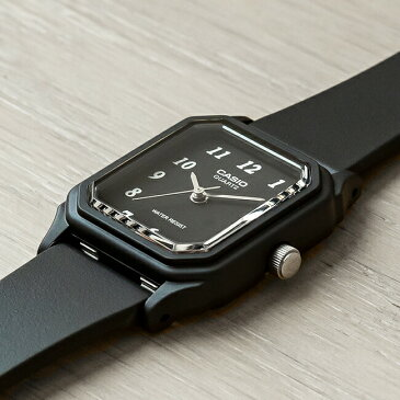 CASIO STANDARD ANALOGUE LADYS カシオ スタンダード アナログ レディース LQ-142-1B 腕時計 チープカシオ チプカシ プチプラ ブラック 黒 日本未発売