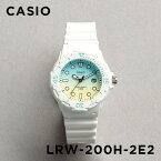 【並行輸入品】CASIO SPORTS ANALOGUE LADYS カシオ スポーツ アナログ レディース LRW-200H-2E2 腕時計 チープカシオ チプカシ プチプラ 防水 ホワイト 白 スカイブルー 水色