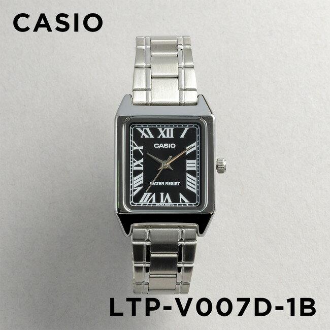 腕時計, レディース腕時計 10CASIO LTP-V007D-1B