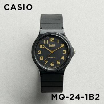 【並行輸入品】【10年保証】CASIO STANDARD ANALOGUE MENS カシオ スタンダード アナログ メンズ MQ-24-1B2 腕時計 キッズ 子供用 男の子 レディース チープカシオ チプカシ プチプラ ブラック 黒