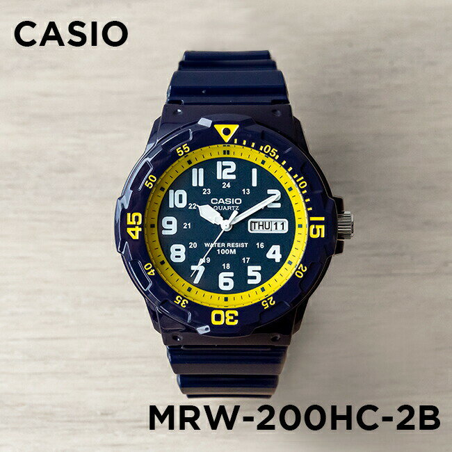 腕時計, メンズ腕時計 10CASIO MRW-200HC-2B