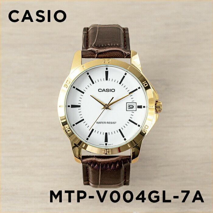 CASIO Gold watch 10CASIO MTP-V004GL-7A