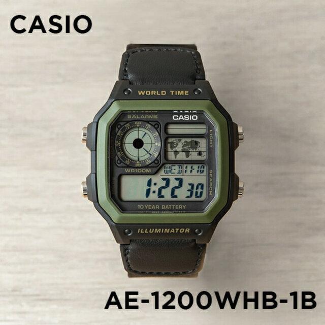 c550777ebc 並行輸入品】【10年保証】CASIO カシオ スタンダード AE-1200WHB-1B ...