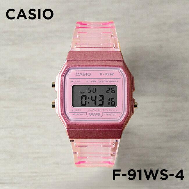 腕時計, 男女兼用腕時計 10CASIO F-91WS-4