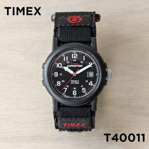 【並行輸入品】【日本未発売】TIMEX タイメックス エクスペディション キャンパー 38MM T40011 腕時計 メンズ レディース ミリタリー アナログ ブラック 黒 ナイロンベルト 海外モデル 送料無料