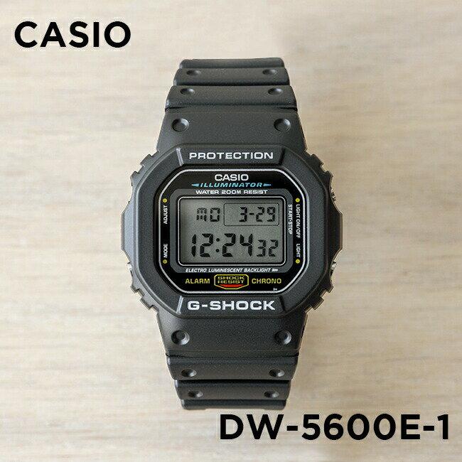 腕時計, メンズ腕時計 10CASIO G-SHOCK G DW-5600E-1