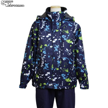 [冬物在庫処分セール] スキーウェア ジュニア キッズ 男の子 SMOG PERFORMER 子供 スノーウェア 上下セット 130cm 140cm 150cm 160cm