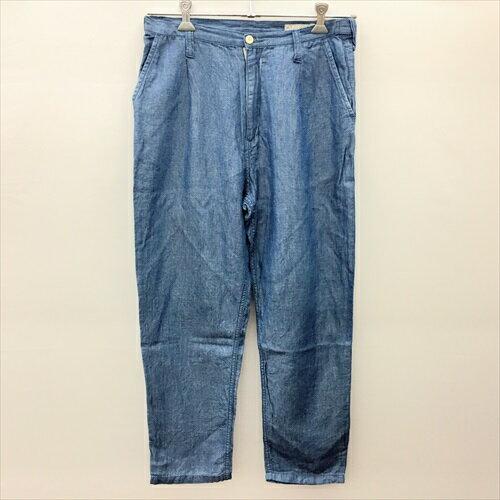 メンズファッション, ズボン・パンツ Porter ClassicCHAMBRAY PANTSFS:S19072820201011