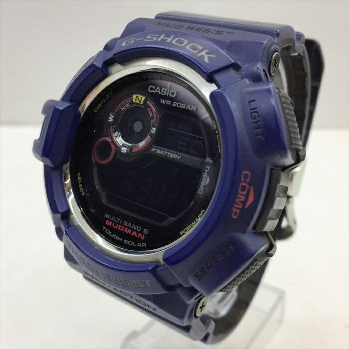 腕時計, メンズ腕時計 CASIO G-SHOCK MUDMANGW-9300NV-2JFFSGMEN IN NAVY6200903