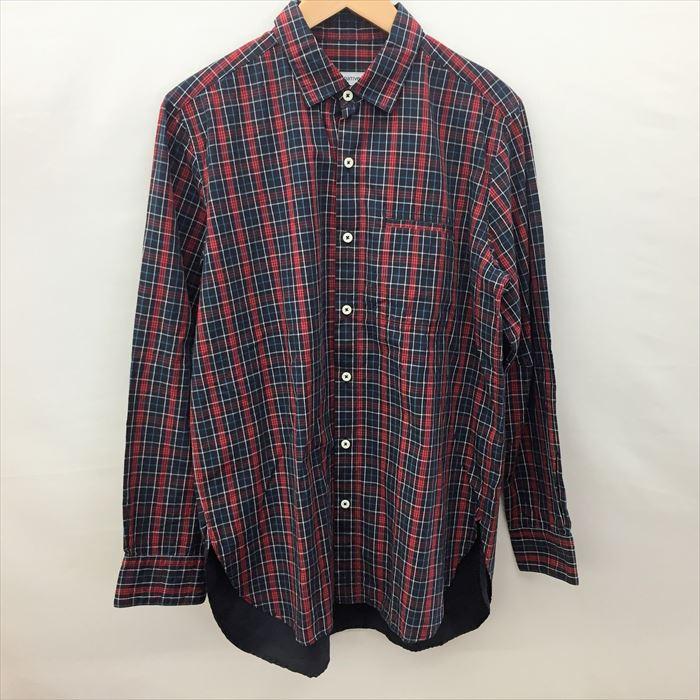 トップス, カジュアルシャツ nonnativeNN-S3307GARDENER LONG SHIRT COTTON TWILL TARTAN PLAID1MensFS210717