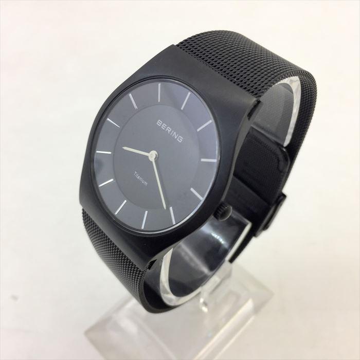 腕時計, メンズ腕時計 BERING11935-222ULTRA SLIM TITANIUM MensFS210721
