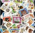 海外・外国のネコの切手 猫 (海外使用済み切手 20枚)