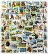 動物の切手(海外使用済み切手 30枚)