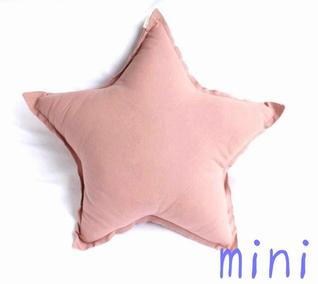 Numero 74ミニ 星★クッション《Dusty Pink》