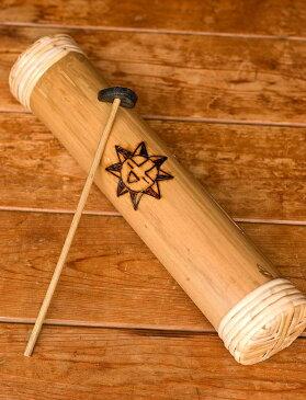 竹のタンドラム / スリットドラム タンドラムバリ 打楽器 コロンビア 民族楽器 インド楽器 エスニック楽器 ヒーリング楽器