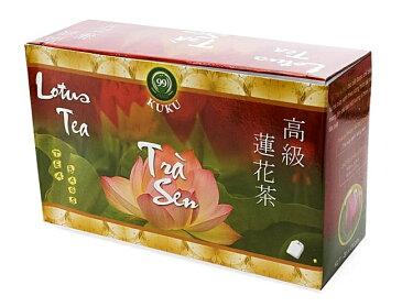 蓮茶 (蓮花茶) ティーバッグ 24袋入 【KUKU】 / ベトナム料理 レビューでタイカレープレゼント あす楽