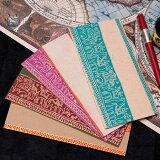 インドの封筒 象と駱駝 URMIL / チマンラール Chimanlals Chimanlals(チマンラール) 便箋 レターセット メッセージカード エスニック アジア 雑貨