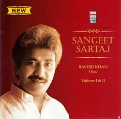 Sangeet Sartaj Rashid Khan Vol.1 and 2 / cd あす楽