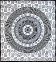 マルチクロス 円形 象【約205cm×約220cm】 / ダブル ベッドカバー インド綿 布 ソファーカバー レビューでタイカレープレゼント あす楽