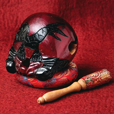 癒やしの音色 木魚セット 大 / 仏具 打楽器 ドラム レビューでタイカレープレゼント あす楽