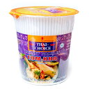 〔Thai Choice〕手軽に楽しめるタイの味 カップ入りインスタントヌードル トムカーヌードル / タイチョイス チキン TOM KHA ココナッツ THAI CHOICE お買い得 お試し 食品 食材 まとめ買い アジアン食品 エスニック食材