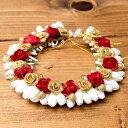南インドの髪飾り ジャスミンのつぼみ / 花 頭 アクセサリー エスニック アジア アンクレット ピアス リング ビンディー