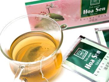 蓮茶 (蓮花茶) ティーバッグ 25袋入 【PHUC LONG】 / ベトナム料理 レビューでタイカレープレゼント あす楽