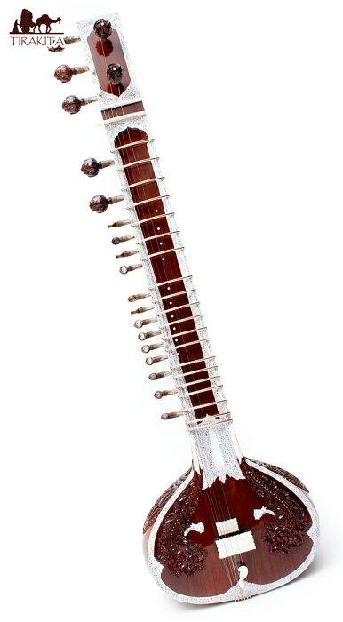 【送料無料】 シタールセット(グラスファイバーケース) / Sitar インド 楽器 弦楽器 民族楽器 インド楽器 エスニック楽器 ヒーリング楽器