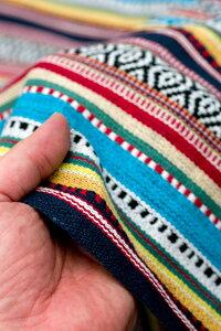〔50cm切り売り〕ネパール織り生地-中厚手〔幅120cm強〕 【レビューで200円クーポン進呈&あす楽】 量り売り 布 アジア布 計り売り インド ファブリック エスニック