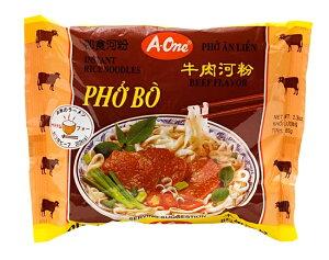 ベトナム フォー (袋) 【A One】 ビーフ味 / ベトナム料理 インスタント麺 ベトナムフォー One(エーワン) ベトナム食品 ベトナム食材 アジアン食品 エスニック食材