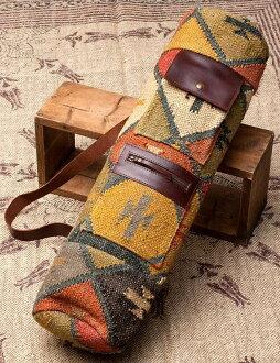 紡傳統 IND Kilim ★ 瑜珈墊包瑜伽墊案例瑜伽普拉提瑜伽健身袋