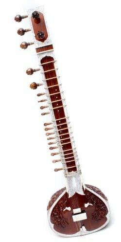 【送料無料】 高級シタールセット(グラスファイバーケース) / Sitar インド 楽器 弦楽器 民族楽器 インド楽器 エスニック楽器 ヒーリング楽器