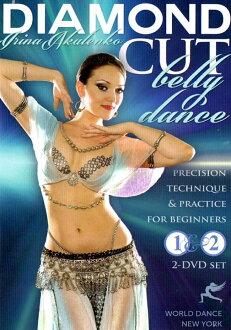 2 DVD 鑽石切肚皮舞-伊琳娜肚皮舞 CD 衣服露出肚臍的緊身衣裙子褲子課表現音樂埃及阿拉伯中東埃及 2,452