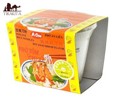 ベトナム・フォー インスタント カップ 【A-One】 ピリ辛エビ味 / ベトナム料理 インスタント麺 あす楽