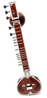 Doubletumbashi 焦油 + 玻璃光纖案例西塔琴、 印度西塔琴樂器、 絃樂器印度、 民族樂器