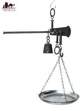 店内全品ポイント5倍! アンティーク風吊りはかり(小) 5kgまで計測 / 測り 秤 weight scale レビューでタイカレープレゼント あす楽