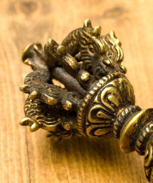 ドルジェ(ヴァジュラ・金剛杵) 約10cm / 密教法具 レビューでタイカレープレゼント あす楽