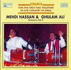 Mehdi Hassan and Ghulam Ali Ghazal Vol. 2 / Hindusthan Musical インド音楽CD ボーカル 民族音楽
