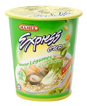 インスタント ヌードル ベジタブル味 カップ 付き 【MAMEE】 / マレーシア料理 インスタントヌードル あす楽