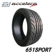 アクセレラ651SPORT265/35R1893W/265-35-18インチ