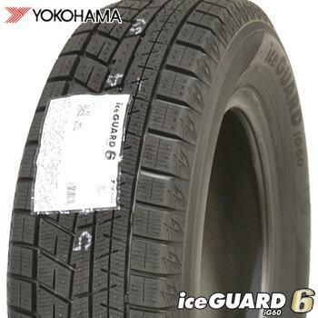 【2017年製】 215/60R16 ヨコハマ アイスガードシックス iG60 スタッドレスタイヤ 1本 YOKOHAMA iceGUARD6 車種例 クラウン マークX ヴェゼル オデッセイ 【2】