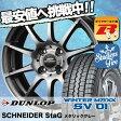 ウインターマックス SV01 145R13 6PR シュナイダー スタッグ メタリックグレー スタッドレスタイヤホイール 4本 セット