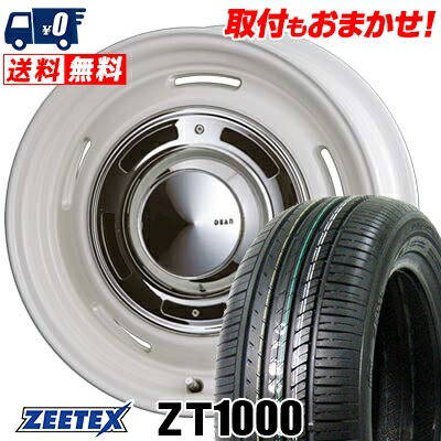 205/55R16 91V ZEETEX ジーテックス ZT1000 ZT1000 DEAN CrossCountry ディーン クロスカントリー サマータイヤホイール4本セット【取付対象】