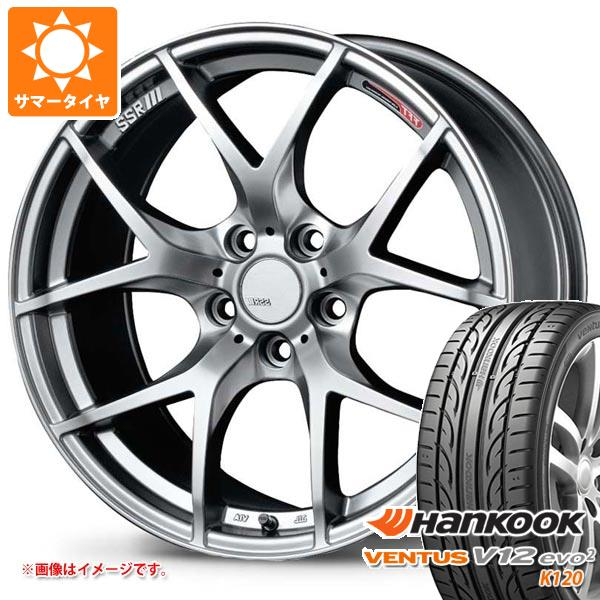 タイヤ・ホイールセット, サマータイヤ・ホイールセット  22540R18 92Y XL V12evo2 K120 SSR GTV03 7.5-18 4