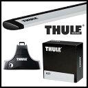 THULE ベースキャリア ウィングバーエッジ 9584B カラー:ブラック【キャリア】スーリー Base Carrier WingBar Edge Black