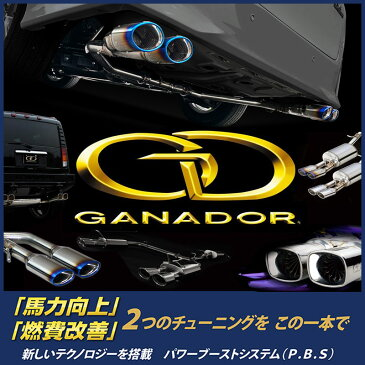 GANADOR マフラー Vertex 4WD/SUV ミツビシ デリカ D:5 クリーンディーゼル LDA-CV1W H25/1〜 品番:GVE-021BL ガナドール【沖縄・離島発送不可】