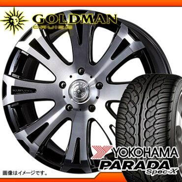 サマータイヤ265/40R22106VREINFヨコハマパラダスペック-XPA02&タイタンモノブロック9.0-22タイヤホイール4本セット