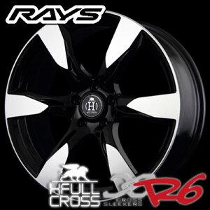 レイズ フルクロス クロススリーカーズ R6 8.5-20 ホイール1本 HFULL CROSS CROSS SLEEKERS R6