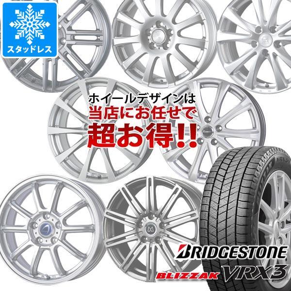 タイヤ・ホイールセット, スタッドレスタイヤ・ホイールセット 2021 VRX3 20560R16 96Q XL 6.5-16 420560-16 BRIDGESTONE BLIZZAK VRX3