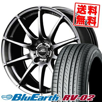 タイヤ・ホイールセット, サマータイヤ・ホイールセット 20565R16 95H YOKOHAMA BLUE EARTH RV02 RV-02 SCHNEDER StaG 4